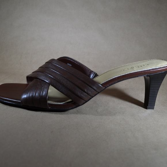 4261b679cc Villager by Liz Claiborne Leather Heeled Sandals. Liz Claiborne.  M_5b7844aec9bf50d6f0dd277a. M_5b7844ae45c8b31ea1d3b7d3.  M_5b7844ae035cf1ea4255c910